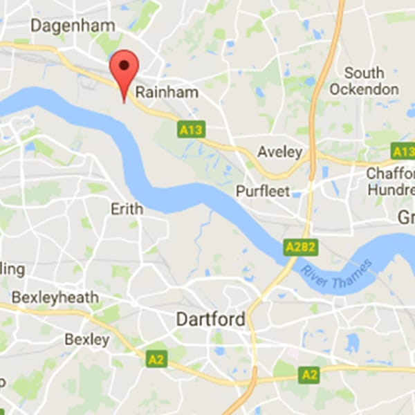 rainham-google-map