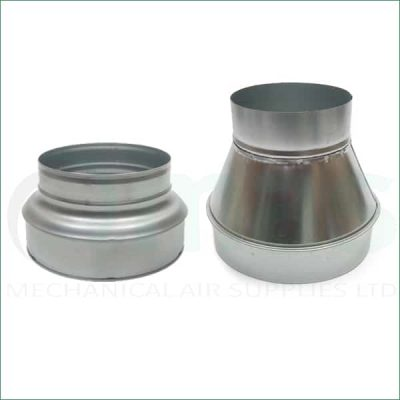 Concentric Reducers for Ventilation Duct