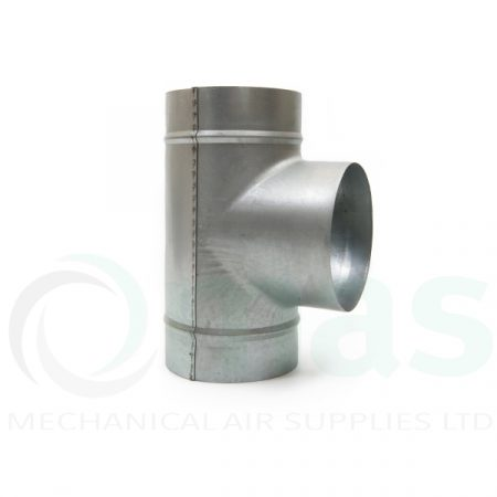 90 degree equal Tee-Spiral-Fitting-Equal-T-piece-0001
