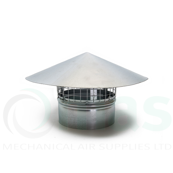 Roof Cowls Extractor Fan Roof Vent Cowl 150mm 630mm Dia In Stock