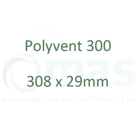 308 x 29 mm Plastic Duct