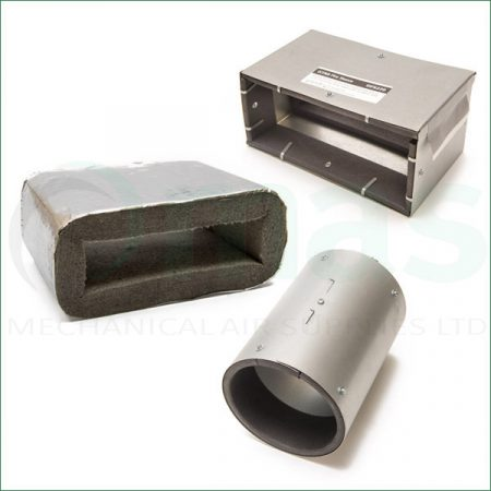 Intumescent Sleeves for Plastic Duct