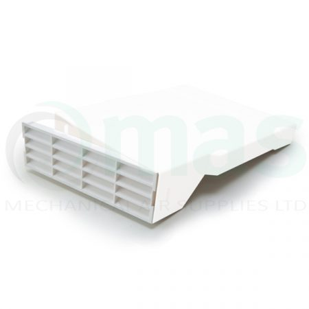 2316-Airbrick-Facia-insert-for-2016-3016-Airbrick-adapter-white