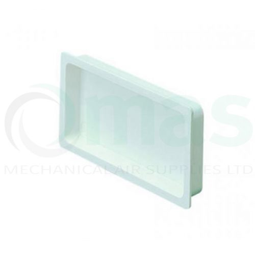 Plastic Flat Ducting End Cap