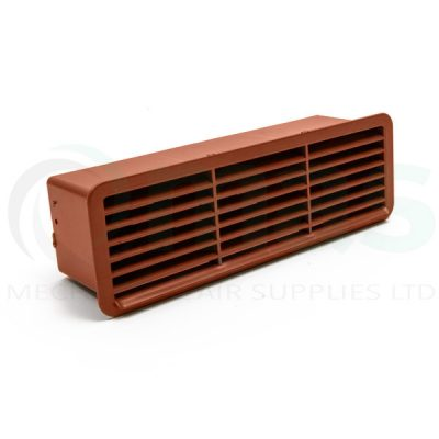 Plastic-Duct-Systems-Plastic-Airbrick-Backdraft-Shutter Terracotta