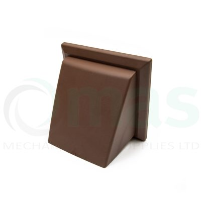 Plastic-Duct-Systems-Plastic-Cowled-Outlet-Brown