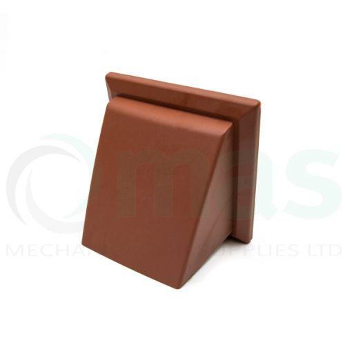 Plastic-Duct-Systems-Plastic-Cowled-Outlet-Terracotta