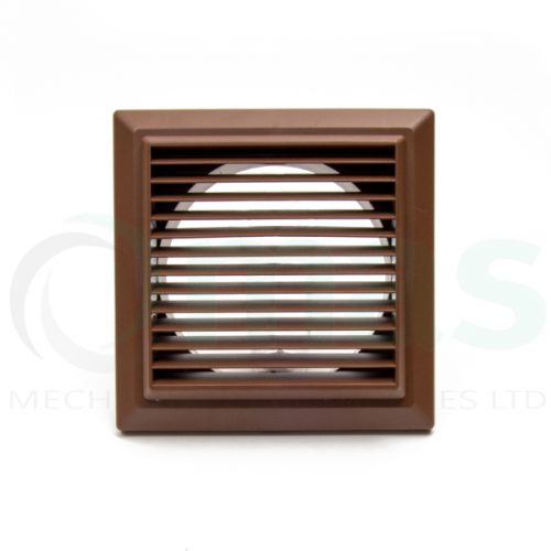Plastic-Duct-Systems-Plastic-Weather-Louvre-Brown
