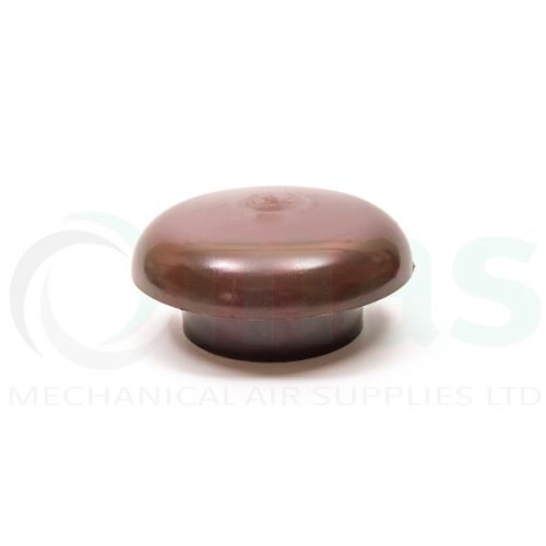 Plastic-Duct-Systems-Roof-Cowl-Brown