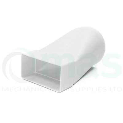 Plastic-Duct-Systems-System-100-Square-to-Round-In-line-Adapter-0001