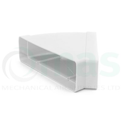 Plastic-Duct-Systems-System-125-Horizontal-45-Degree-Bend-0001