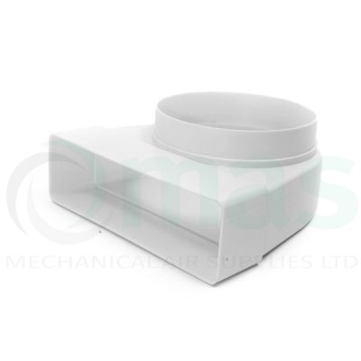 Plastic-Duct-Systems-System-125-Square-to-Round-Elbow-0001