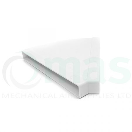 Plastic-Duct-Systems-System-225-300-Horizontal-45-degree-bend-0001
