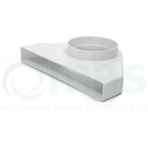 Plastic-Duct-Systems-System-225-300-Square-to-Round-Elbow-0001