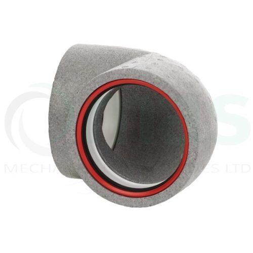 160-125-Diameter-Verplas-Self-Seal-Thermal-Duct-90-degree-bend