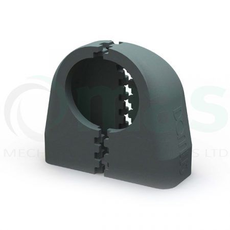 Domus 204x60 Thermal Insulation Shell - Elbow bend with 125mm dia spigot