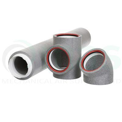 125mm Diameter Self Sealing Thermal Ducting