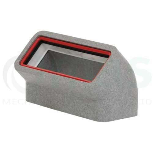 Verplas-self-seal-thermal-duct-vertical-45-degree-bend