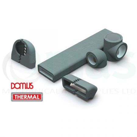 Domus Insulation Shells for Plastic Duct