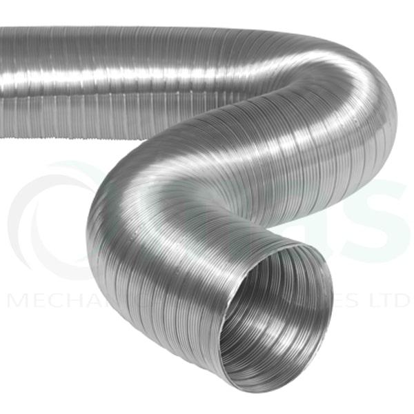 125 mm x 3 m Semi-Rigid Flexible Aluminium Ducting