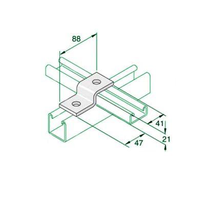 W026-Shallow-z-bracket-P4045