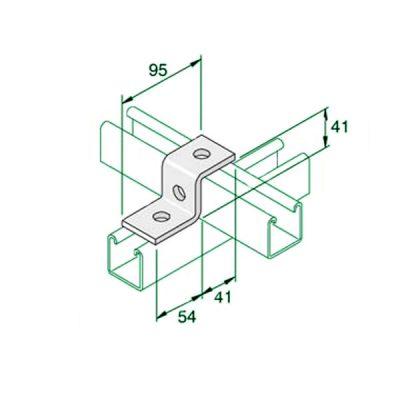 W027-Single-Z-Bracket-P1045