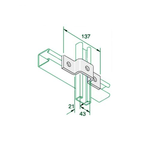 W029-40-20-top-hat-bracket-P4047