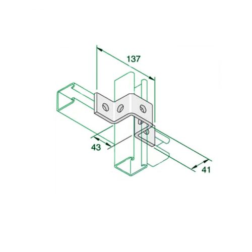 W030-40-40-Top-Hat-Bracket-P1047
