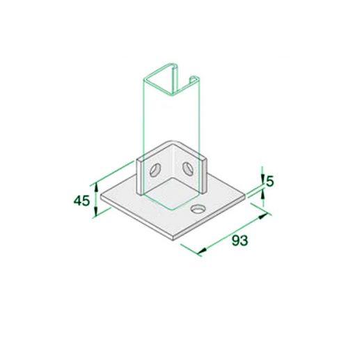 W035-Double-Fix-Base-Plate-P2072-S1