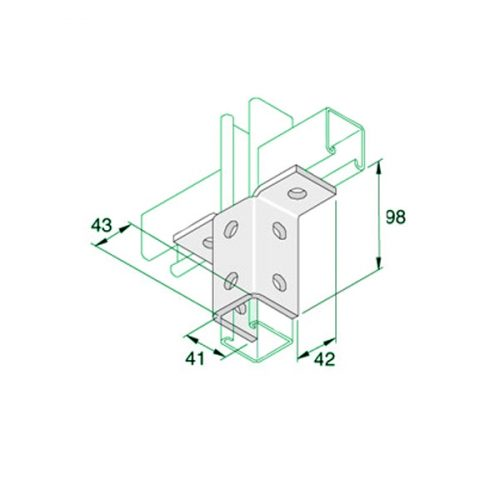 W039-Channel-T-Bracket-P2346