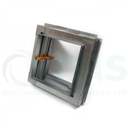 Square Fire Damper with Frame
