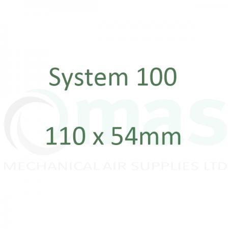 System 100 - 110 x 54 mm