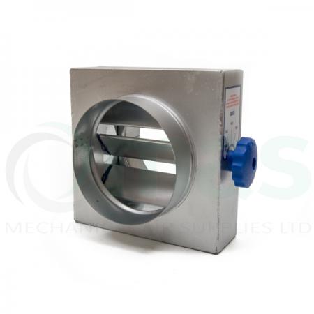 Multi Blade Volume Control Damper (Circular Spigot)