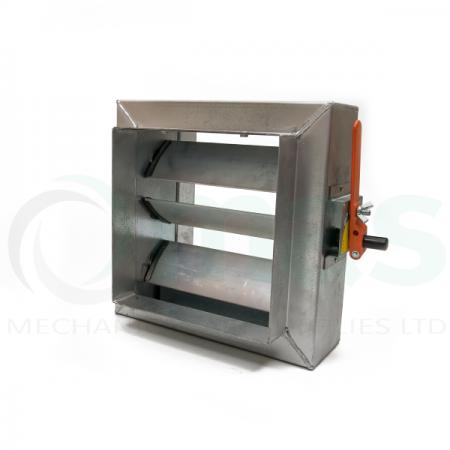 Multi Blade Volume Control Damper (Rectangular Spigot)