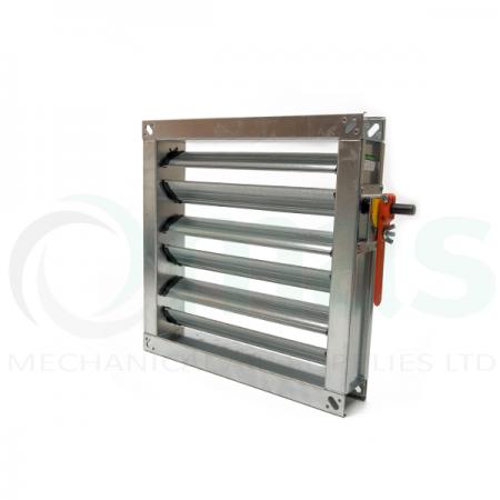 Multiblade Volume Control Damper (Flanged Slim Fit)