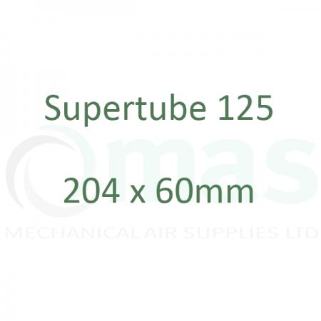 Supertube 125 - 204 x 60 mm