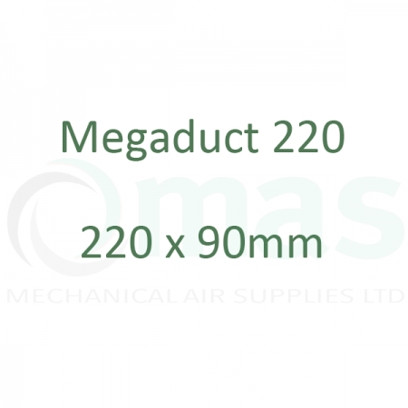 MegaDuct 220 - 220 x 90 mm