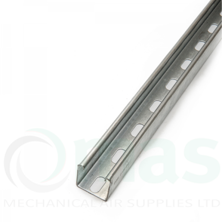 Galvanised Unistrut Slotted Channel 40x40
