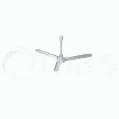 Helios DVW-140 Ceiling Fan 55 inch white metal 3 blade design