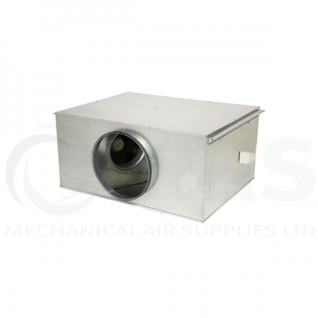Elta STD EC Twinflow Motor Centrifugal Twin Box Fan