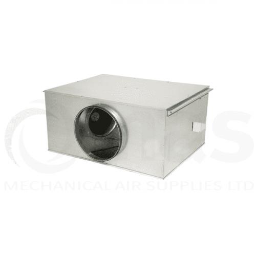 Elta STD EC Twinflow Motor Centrifugal Twin Box Fan