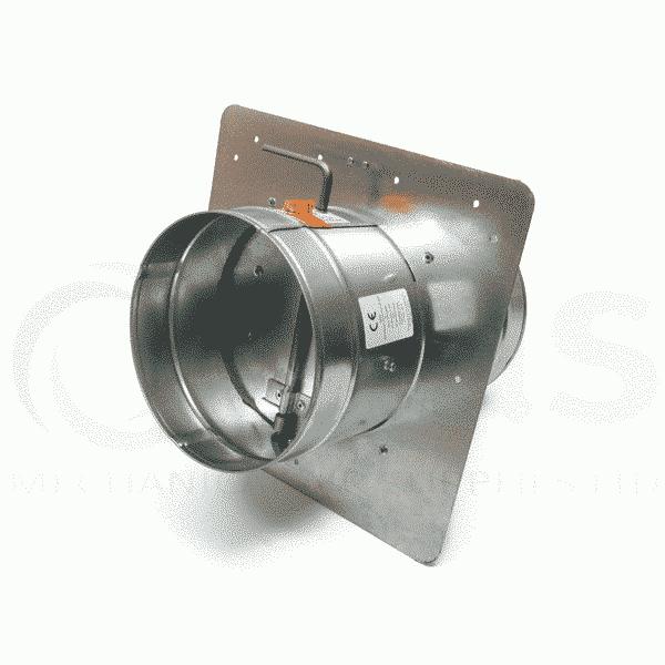 Externally Resettable Circular Fire Damper Mechanical