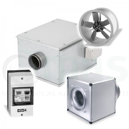 Ventilation Duct Fans & Heaters