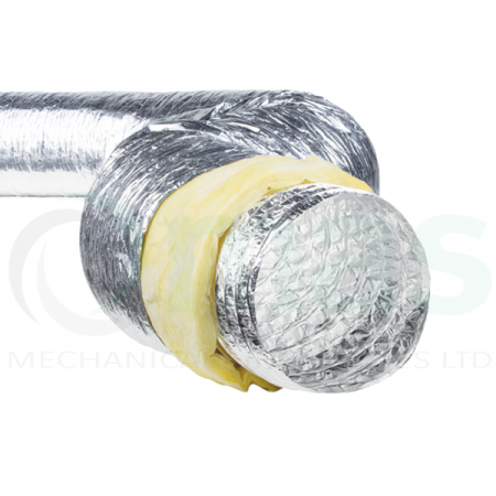 AirFlex Aluminium Flexible Ducting (Thermally Insulated)
