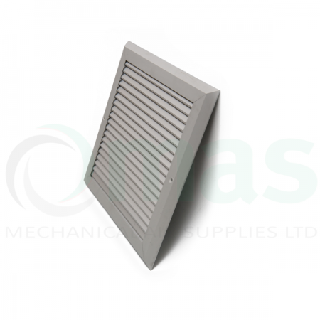 Surface Mount Flush Non Vision Grilles (Side Profile)