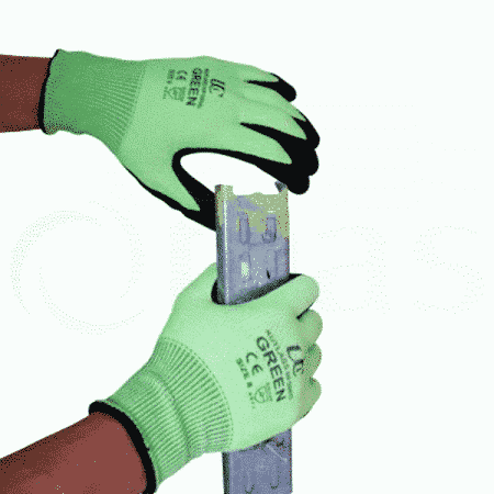 High cut protection safety glove