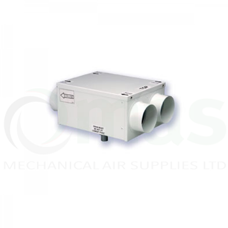 Manrose HR100R 100mm ducted Heat Recovery Unit