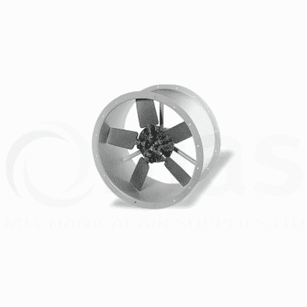 Helios HRFD in line axial fan