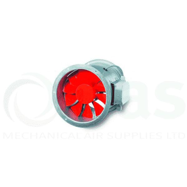 Helios HRFW-315/4 Long Cased Axial Fan 250mm, 4-pole, 1 phase