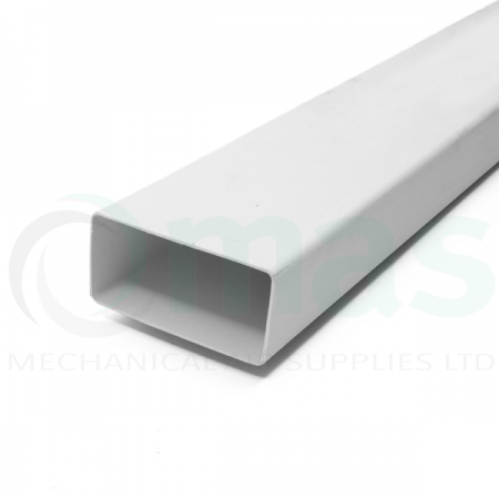 System 100 Rigid Plastic Flat Channel Duct